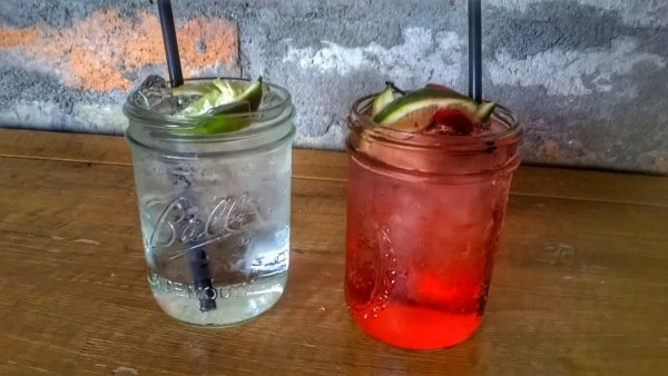 Grown Up Cherry Limeade and White Mist are offered all summer at Arroyo Grille. Photo courtesy Ak-Chin Southern Dunes Golf Club