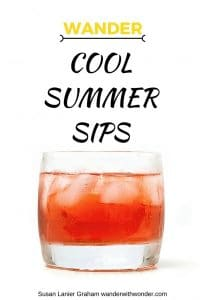 Summer Cocktail Recipes: summer is the season for something cool by the pool