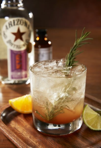 Summer Cocktail Recipes: The Westin Kierland AZGNT Cocktail is a cool refreshing version of a gin and tonic
