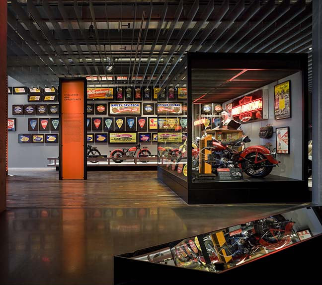 Harley-Davison Museum. Photo courtesy Visit Milwaukee