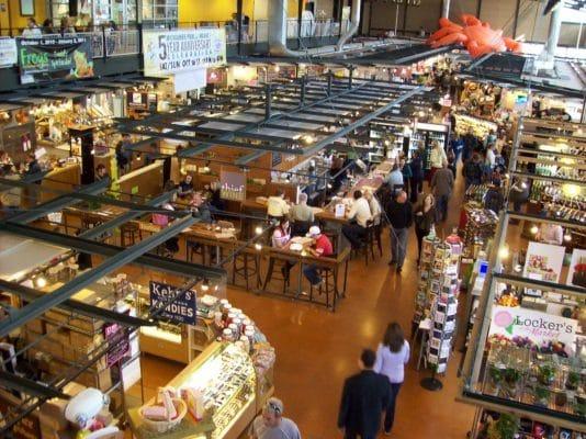 Milwaukee's Public Market. Photo courtesy Visit Milwaukee