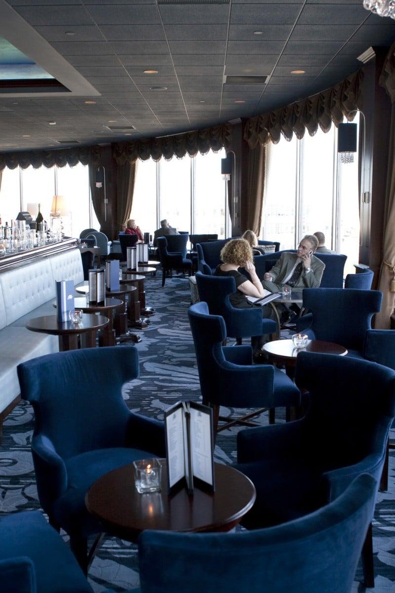 Blu at the Pfister Hotel. Photo courtesy Visit Milwaukee