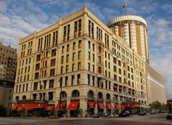 The Pfister Hotel. Photo courtesy Visit Milwaukee