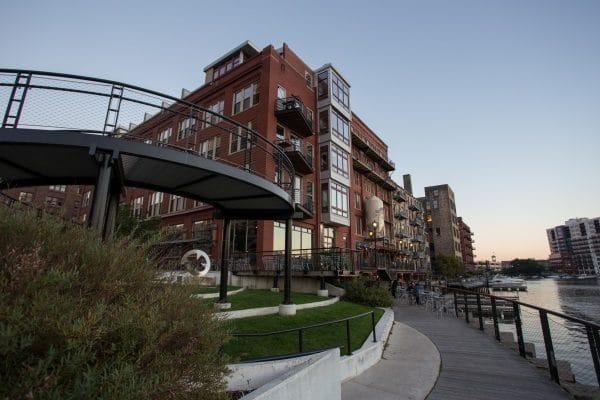 Milwaukee's Historic Third Ward. Photo courtesy Visit Milwaukee