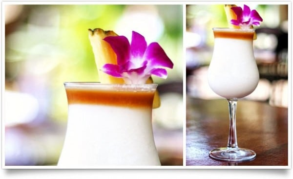 Summer Cocktail Recipe: Tommy Bahama Piña Colada.