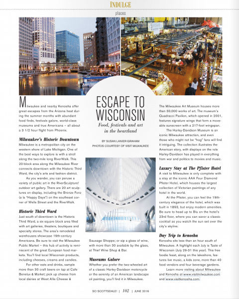 Escape to Wisconsin - SS - June 2016