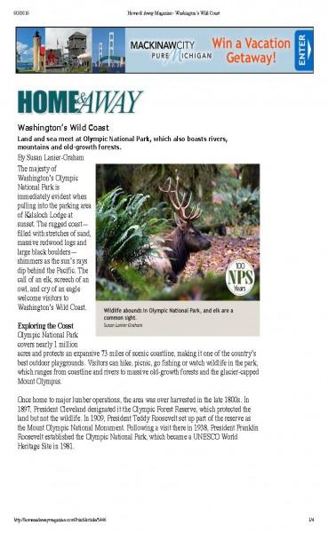Home & Away Magazine - Washington's Wild Coast_Page_1