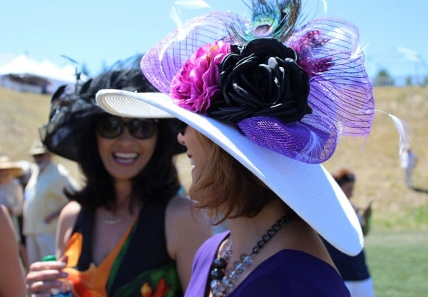 Hats at the Polo Classic