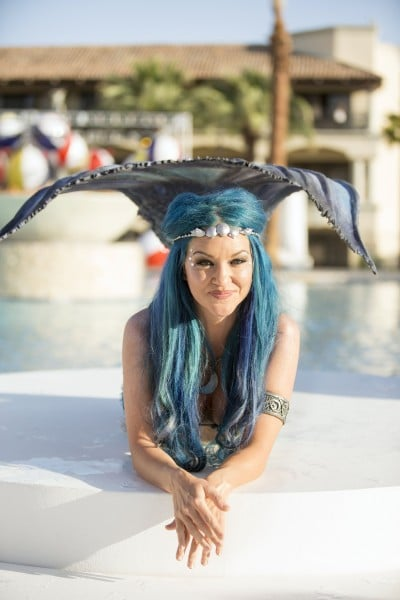 Moon Mermaid at the new Sunset Beach. Photo courtesy Fairmont Scottsdale Princess