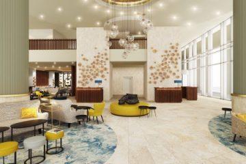Rotterdam Marriott Hotel. Photo courtesy Marriott International