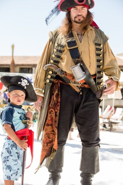 Become a pirate in Swashbuckler Academy. Photo courtesy Fairmont Scottsdale Princess