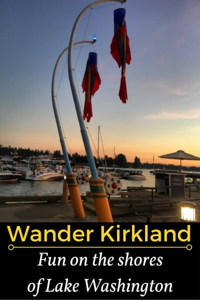 Kirkland, Washington, just an easy 12 miles across a new bridge from Seattle, takes full advantage of being on the eastern shore of Lake Washington. Kirkland has an upscale but laid back vibe. It is a place where you can get away from it all yet not be far from a major urban center.