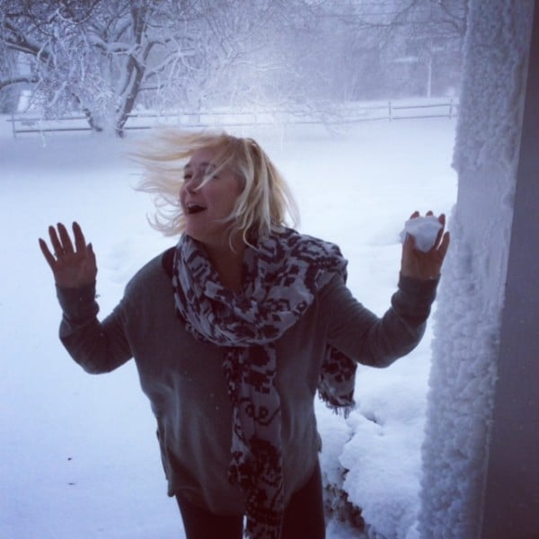 Snow, wine and white makes for a bluster but fabulous winter in The Hamptons. Photo credit: Carrie Pfeifer