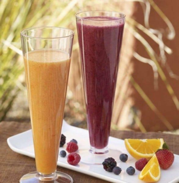 Enjoy a fresh fruit smoothie from The Juice Bar. Photo courtesy Mii amo