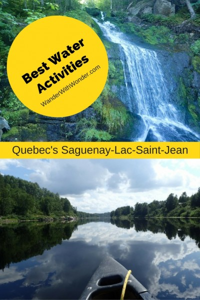 Saguenay-Lac-Saint-Jean region of Quebec has plenty of wide-open wilderness spaces. It's an area where the Atlantic Ocean reaches a fjord finger into the interior, perfect for a water-focused vacation.