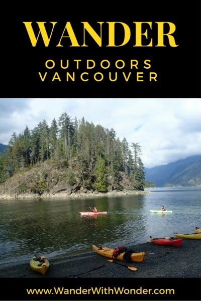 Between waterways, mountains and mild temperatures, Vancouver offers endless opportunities for outdoor enthusiasts. Outdoor adventures abound in Vancouver. #outdoors #adventure #travel #Vancouver #BC #Canada #MyVancouver
