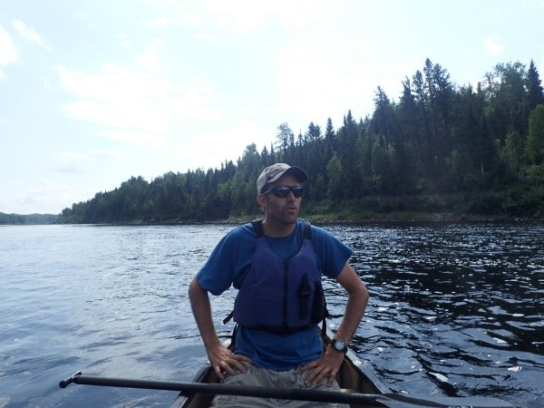canoeing with Aventuraid in Girardville Quebec