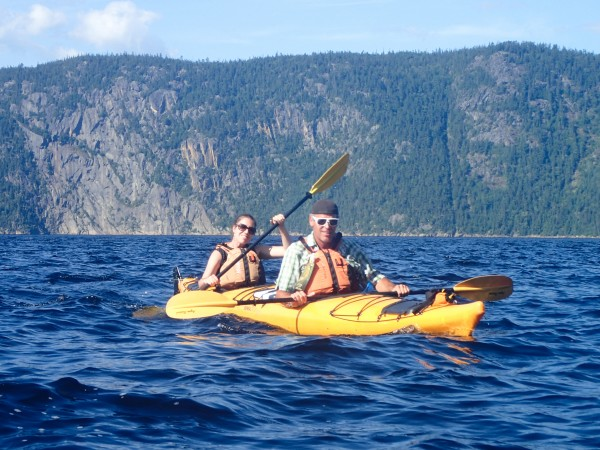 sea kayaking Parc National du Fjord-du-Saguenay