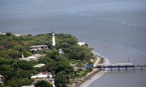 The St. Simon's Lighthouse
