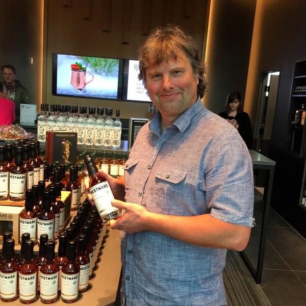 Founder and Master Distiller Christian Krogstad is focusing on Westward Whiskey. Photo Courtesy of Elizabeth Rose