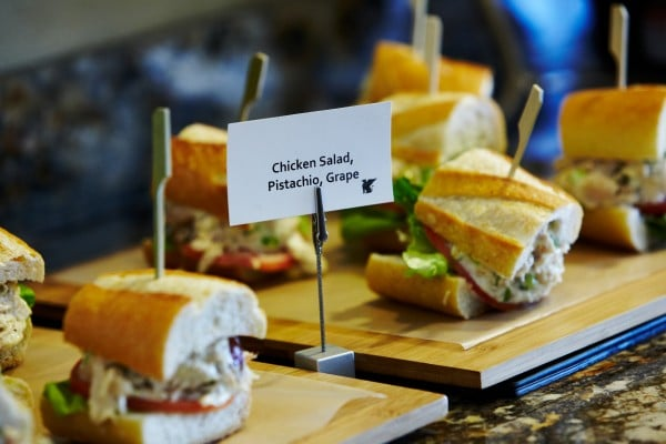 Lunch options at Griffin Club. Photo by Rich Jones courtesy of JW Marriott Phoenix Desert Ridge Resort & Spa