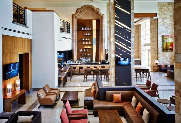 Head to Twenty6 lounge for cocktails, wine and small plates. Photo courtesy of JW Marriott Phoenix Desert Ridge Resort & Spa