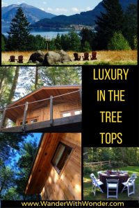 Relax with that indoor-outdoor feel in your tree house.