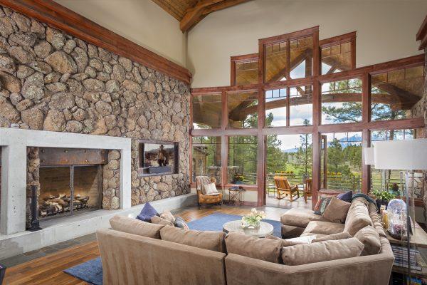 Home interior. Photo courtesy of Pine Canyon