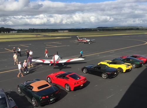 Hangar Hotel Texas Corvettes