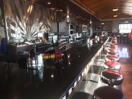 Hangar Hotel Texas diner