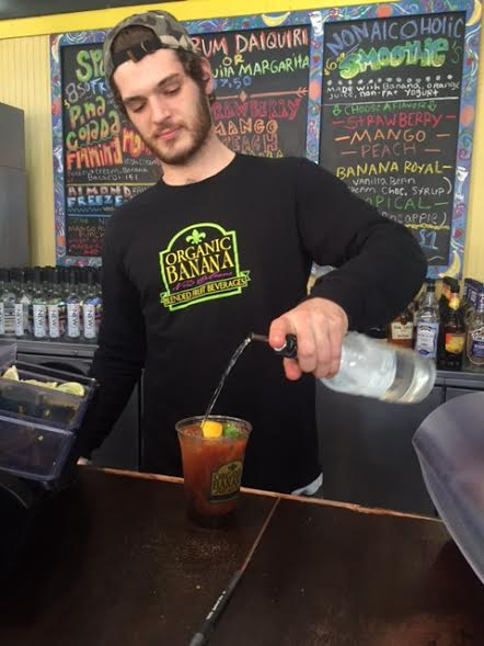 The best Bloody Marys in New Orleans are found at a juice bar in the French Market...go figure! Photo by Barbara Barrielle