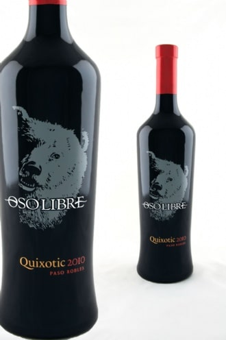 Proprietary Cab Blend named as a tribute to Don Quixote. Photo credit: Oso Libre Wines