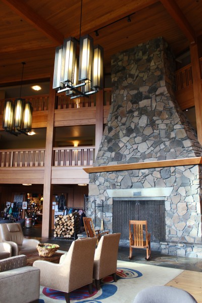 Skamania Lodge Fireplace