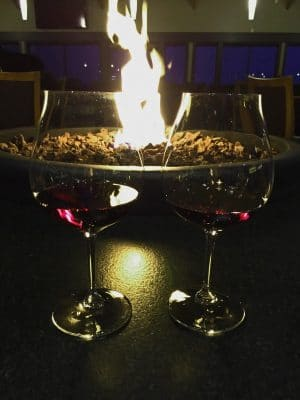Wine and Firepit