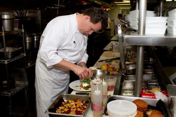 Chef Jeremy Pacheco at Lon's at The Hermosa. Photo courtesy The Hermosa Inn