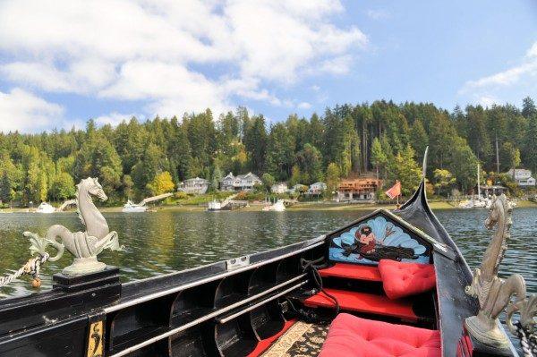 Gig Harbor Gondola has rides in an authentic Venetian gondola.
