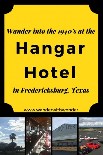Teresa takes us to Fredericksburg, TX and The Hangar Hotel. Join her as she wanders through a themed hotel right Gillespie County Airport.