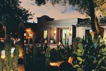 Hermosa Inn and LON's at night. Photo courtesy Hermosa Inn