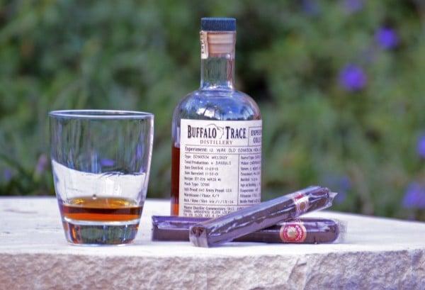 Buffalo Trace bourbon bottled exclusively for JW Marriott Phoenix Desert Ridge. Photo courtesy JW Marriott Phoenix Desert Ridge Resort & Spa