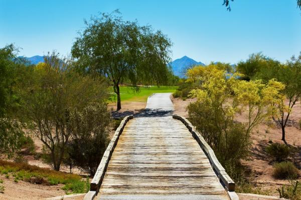 Explore the trails surrounding the resort. Photo courtesy JW Marriott Phoenix Desert Ridge Resort & Spa