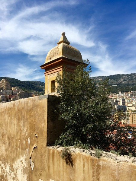 The old walled city of Monaco-ville. Photo by Susan Lanier-Graham