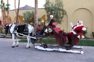 Celebrate the season with the annual tree lighting at Omni Scottsdale Resort & Spa at Montelucia