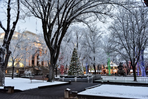 Prescott Courthouse in Arizona's Christmas City. Photo by Nancy Maurer