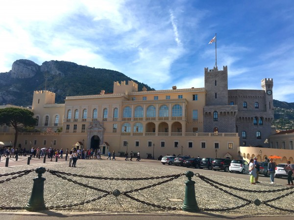 The Prince's Palace is the most-visited sight on the Rock and the official residence of the royal family. Photo by Susan Lanier-Graham