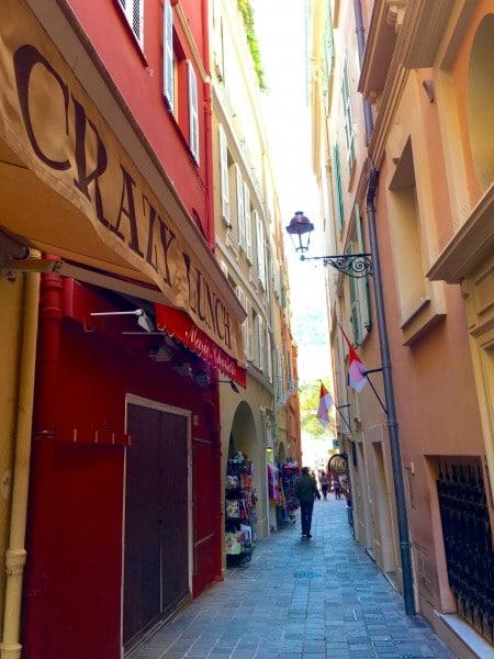 The streets of Monaco-ville. Photo by Susan Lanier-Graham