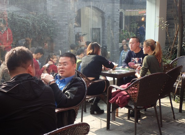 Chengdu wide and narrow alleys