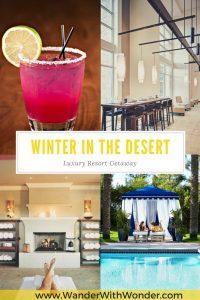 Escape the cold and snows of winter in Phoenix, Arizona with a luxury resort getaway at the JW Marriott Phoenix Desert Ridge Resort & Spa.