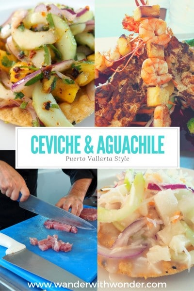 The best way to experience the essence of Puerto Vallarta cuisine is to savor ceviche or aguachile plucked from the sea & prepared to order.