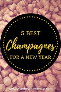 Here are my suggestions for the 5 best champagnes for a New Year to remember.