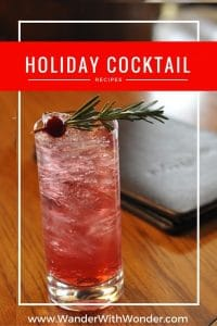 As you trim the tree and deck the halls, we have holiday cocktail recipes to help make your spirits merry and bright this Christmas.